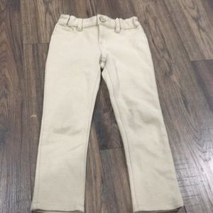 French Toast skinny jeggings size 6 tan / beige